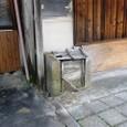 昭和30年代風ゴミ箱
