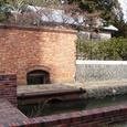 旧・諸戸邸への水路