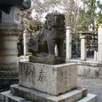 春日神社の狛犬(左)