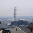 高塚山からみた揖斐・長良川