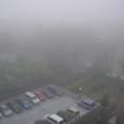霧の彼方の旧・諸戸邸