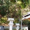 尾野神社横の墓所跡?