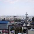桑名市民病院から名古屋を望む