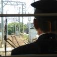 三岐鉄道の電車内