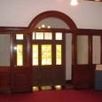 洋館の玄関(内側)