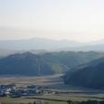 金比羅山から松阪方向を望む