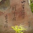 山口誓子句碑(春日神社境内)